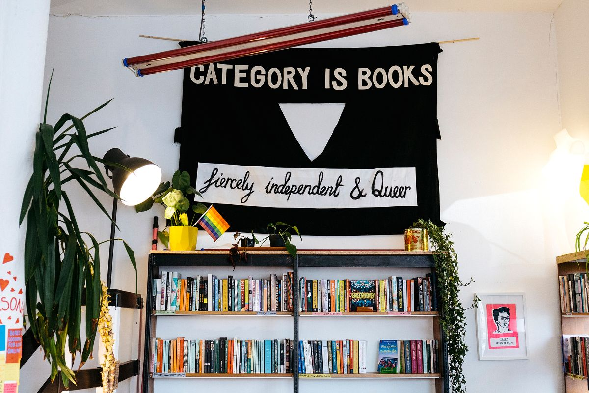 UK queer hubs LGBT events Glasgow Category is Books CREDIT Category Is Books