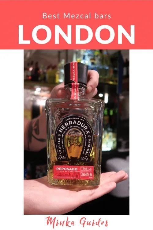 The best bars for Mezcal London   Minka Guides