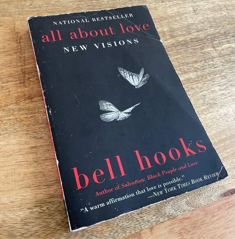 Polyamory books - All About Love by bell hooks CREDIT David Bombaça
