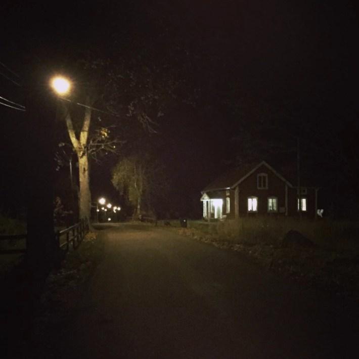 Belysning i mörkret