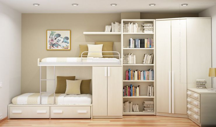 Asian Interior Home Small Spaces Kids Bedroom
