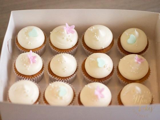 Banana Bliss kustomoidut mini cupcaket