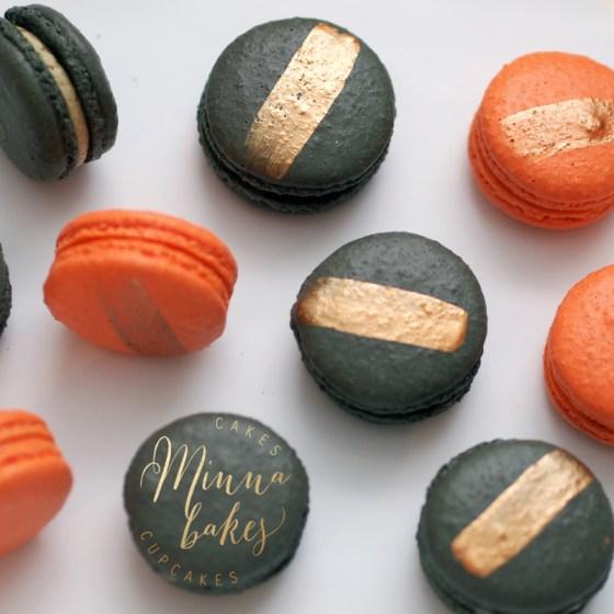 Tyylikkäät Halloween Macaronit
