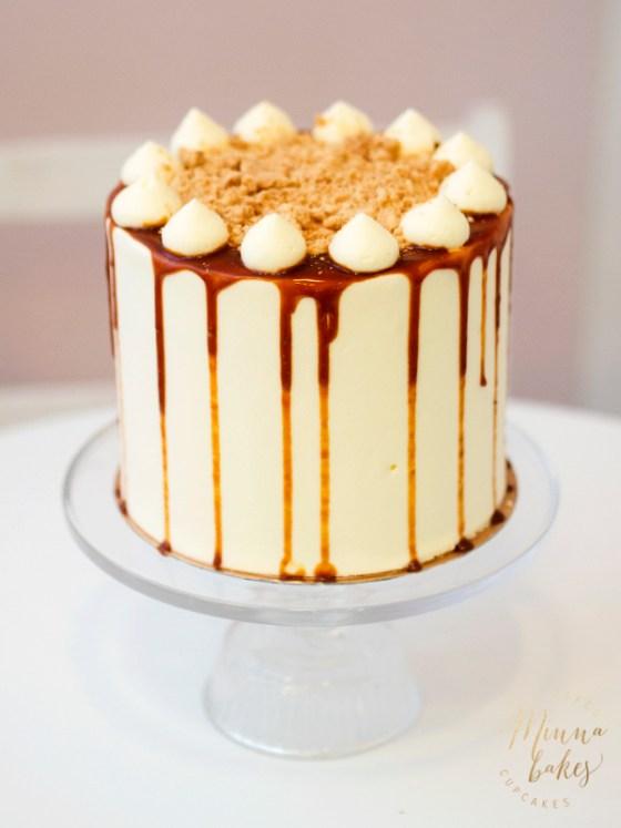 Banoffee kakku