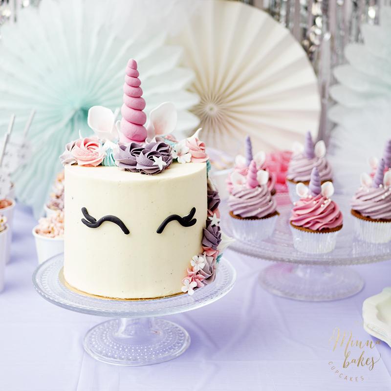 unicorn cake jyväskylä minna bakes