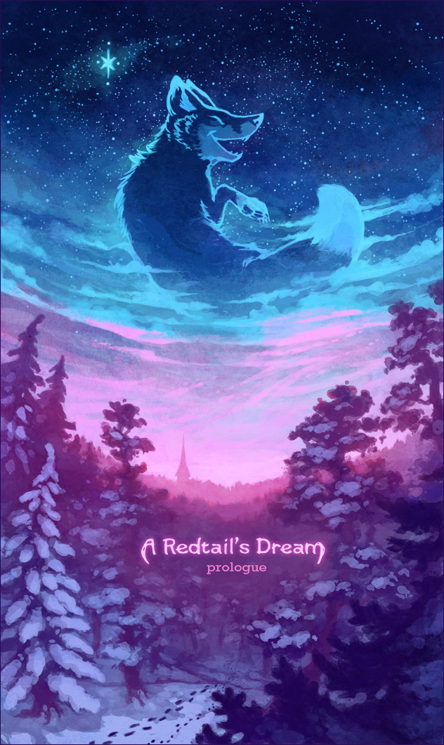 A Redtail's Dream webcomic