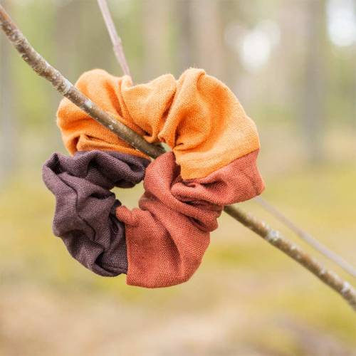 Hiusdonitsi, oranssi-ruskea