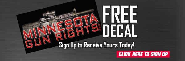 Pick Up a FREE Decal from Minnesota Gun Rights!
