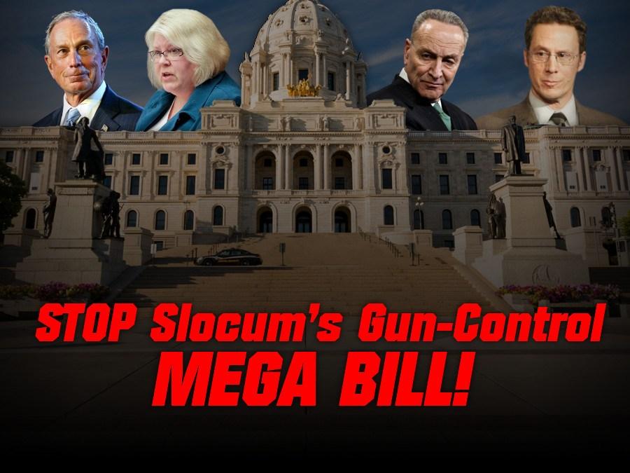 Gun Control MEGA Bill Introduced in St Paul