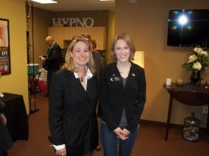 Cindy with State Rep. Anna Wills
