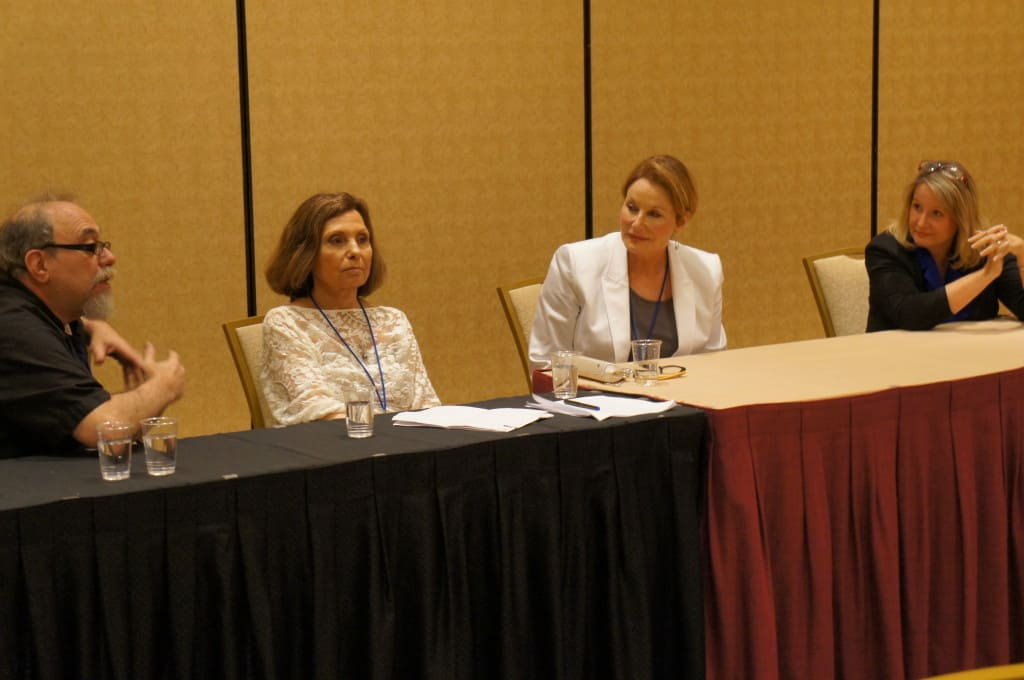 Cindy Locher on a panel discussion about Medical Hypnosis at a national conference.
