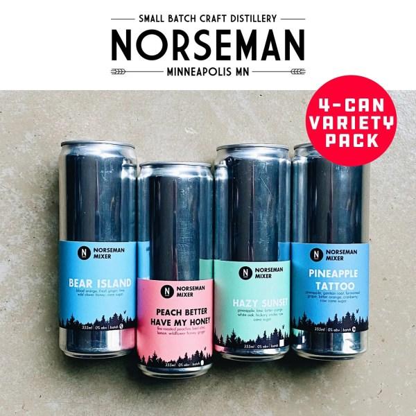 Minnesota Ice - Norseman Mixer, Variety Pack