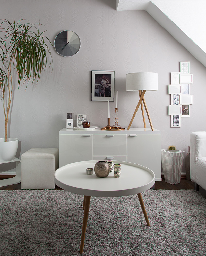 Scandinavian interior style mit alpina minnja for Wohnzimmer inspiration