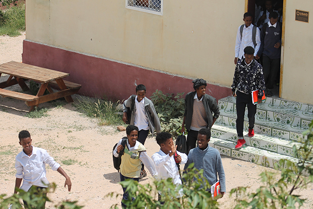 The American-style boarding school is the most admired school in Somaliland.