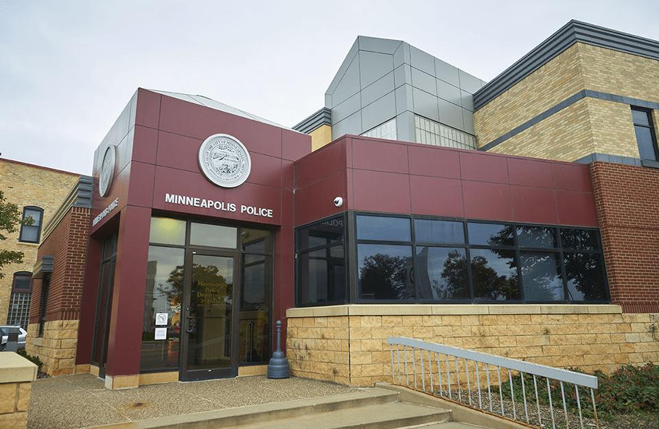 photo of minneapolis 3rd precinct police station