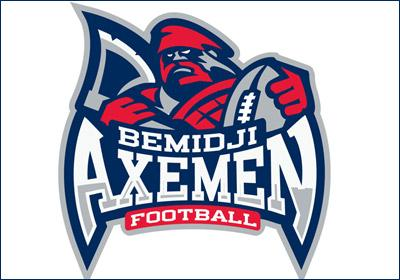 The logo for the new Bemidji Axemen indoor football team