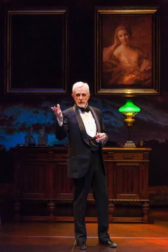 James A. Stephens (Henrik) in the Guthrie Theater's production of Embers, by Chr