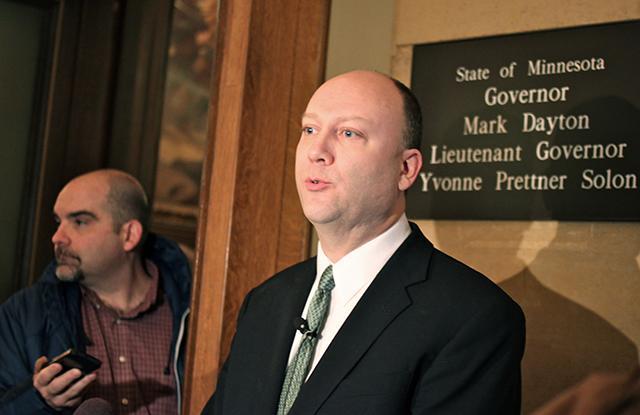 Gubernatorial candidate Marty Seifert