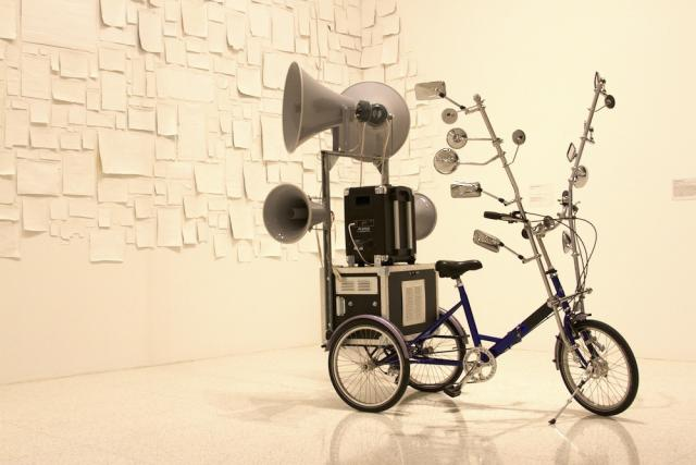 tricycle sculpture