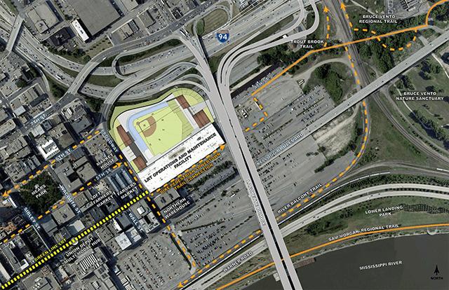 map of stadium location