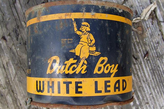 lead paint can photo