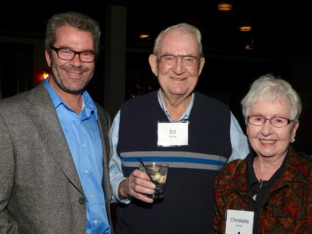 MinnPost board member Ed Kohler with his parents Ed and Christelle Kohler