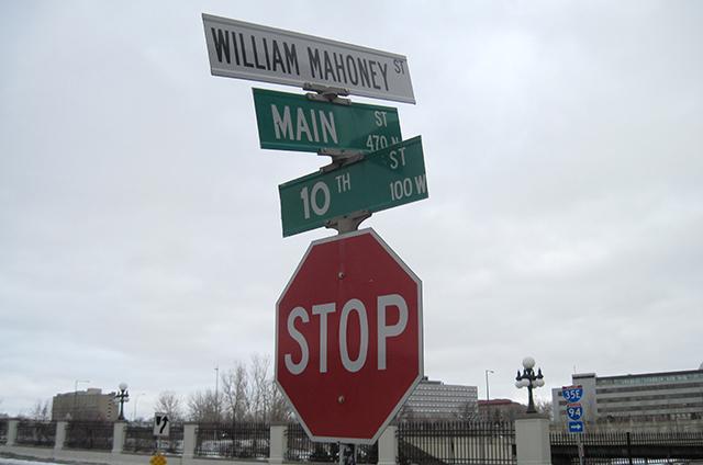 main street street sign