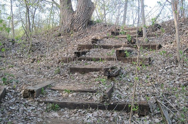 swede hollow staircase