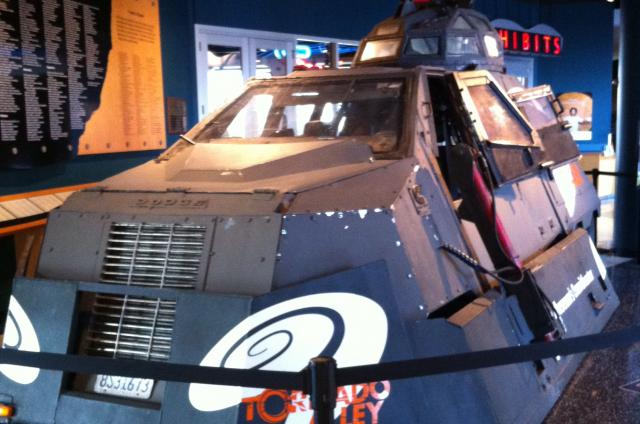 The tornado car