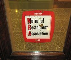 nra membership sticker