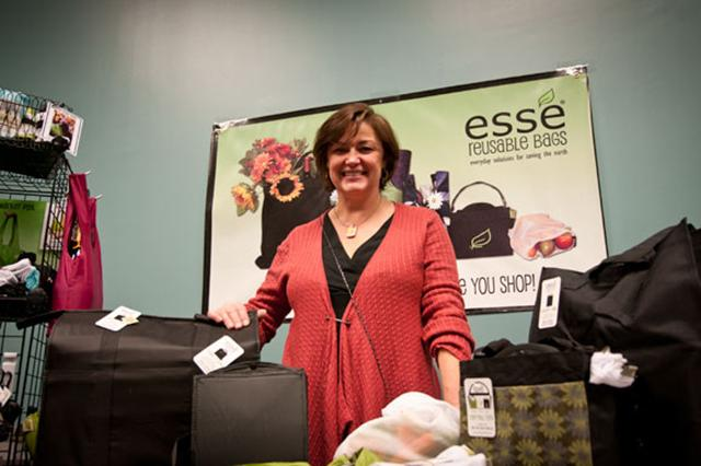 Holly Jordan of Esse Reusable Bags