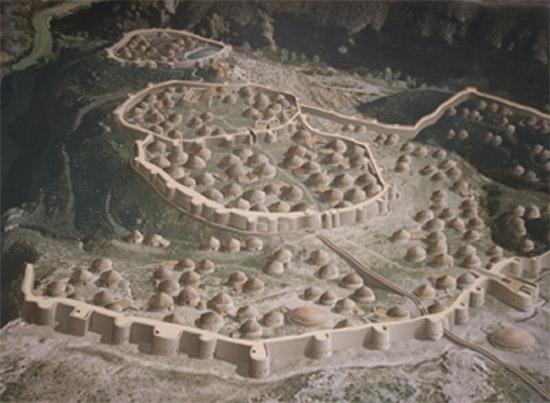Reconstrucción de Los Millares.