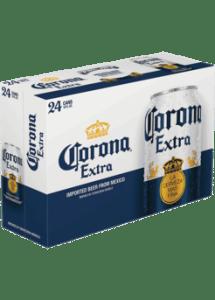 corona 24pk cans