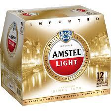 amstel 12pk bottle