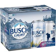busch light 30 pack