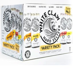 WHITE CLAW COLLECTION 2 VARIETY
