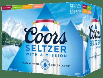 coors light seltzer 24 pack