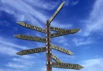 Destination Street  Sign