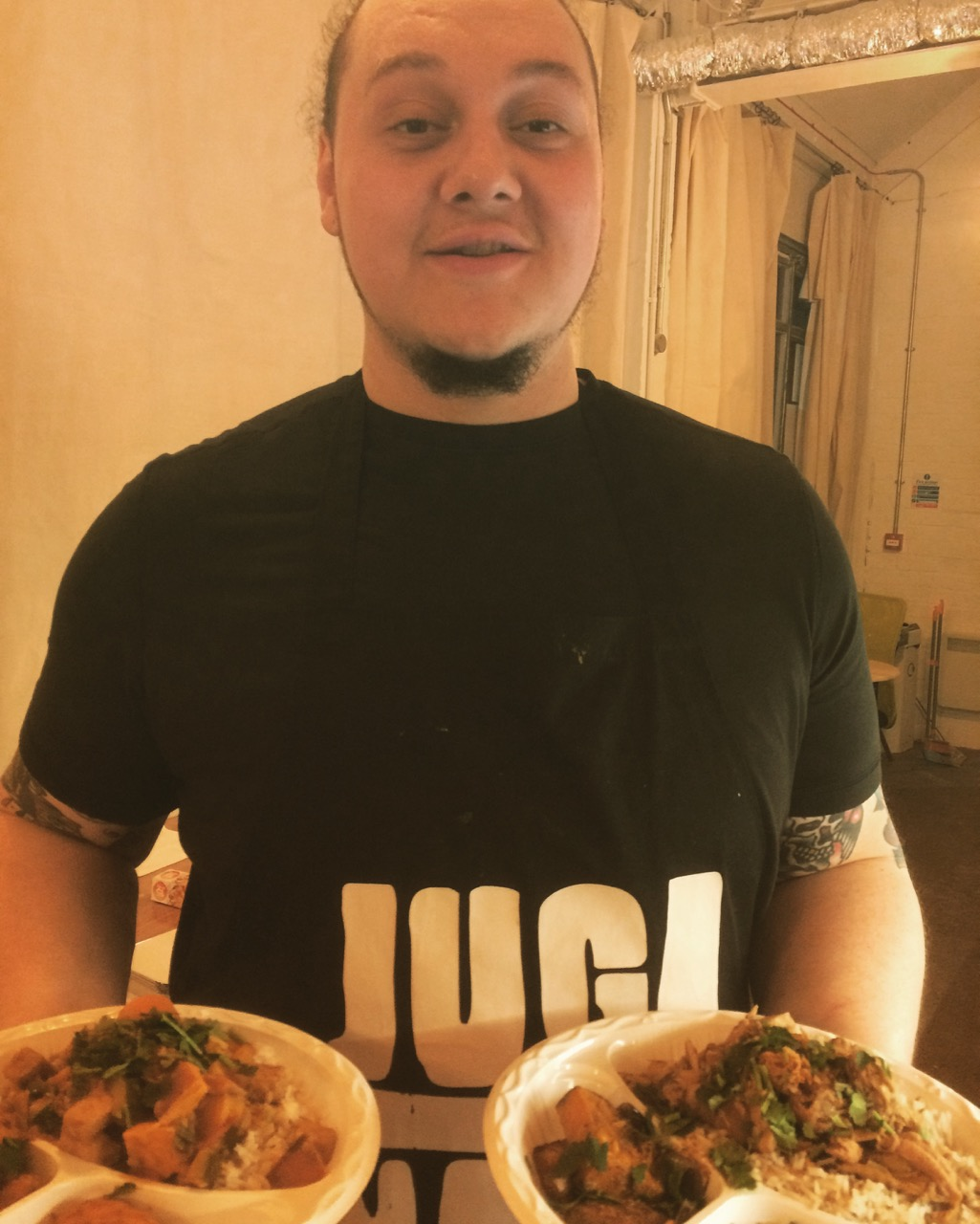 Chef Jugz' Caribbean curry