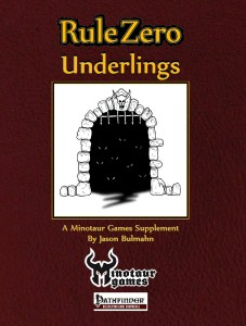 Rule Zero Underlings Cover