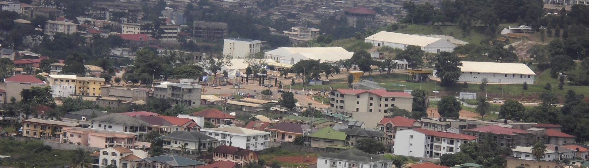 A view of Yaounde from Mount Febe, one of the 7 hills of the Cameroonian capital