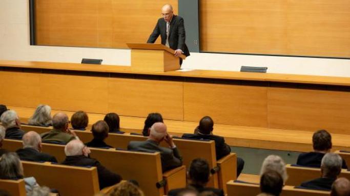 Minsili Zanga - François-Xavier Fauvelle, titulaire de la chaire d'Histoire africaine au Collège de France (Paris) / DR