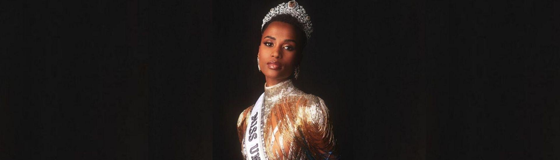 Zozibini Tunzi, 26 ans, Sud-africaine, Miss Univers 2019