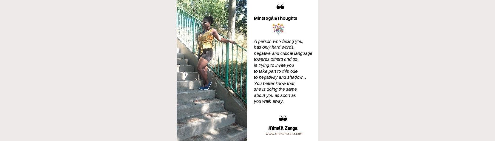 Minsili Poetry Quote : Don't be ashamed to love yourself