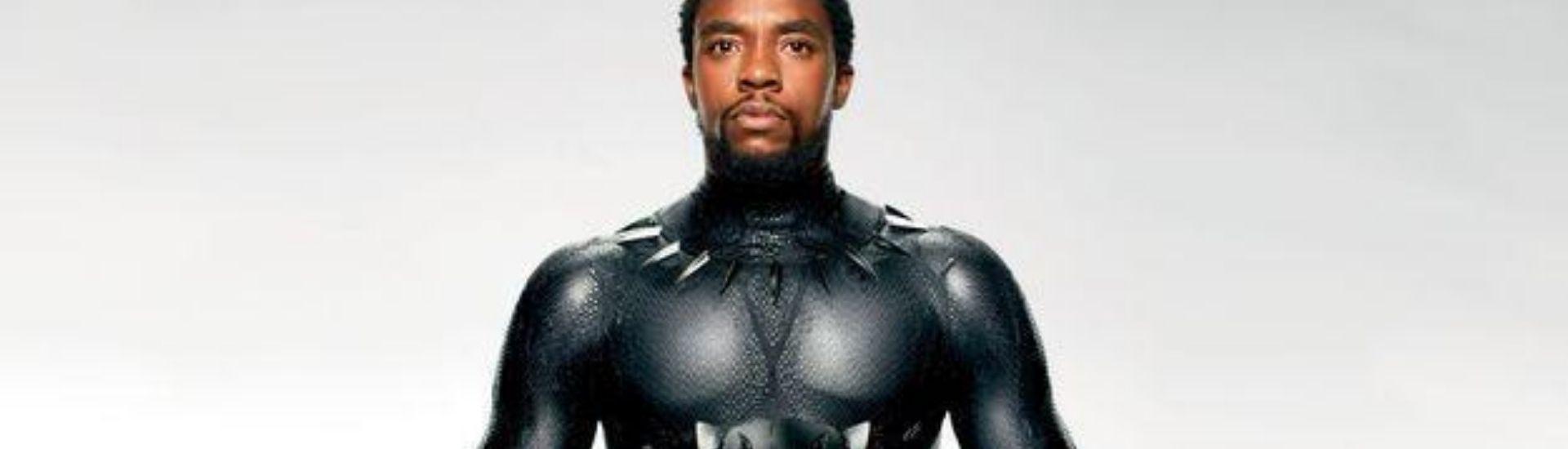 Chadwick Boseman (Black Panther roi T'Challa)