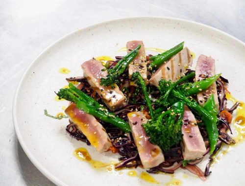 grilled tuna steak recipe