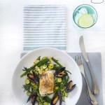 hake fillet low calorie dinner