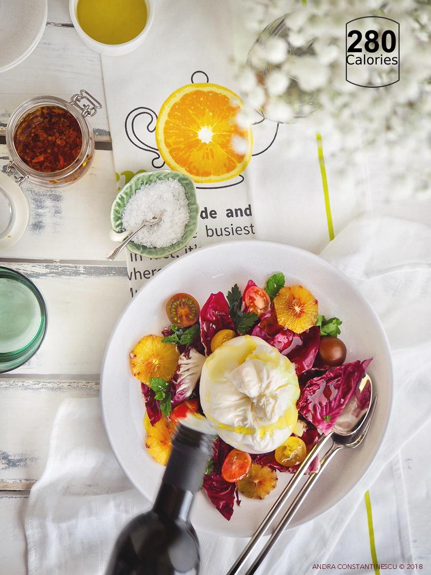 burrata and blood orange recipe calories