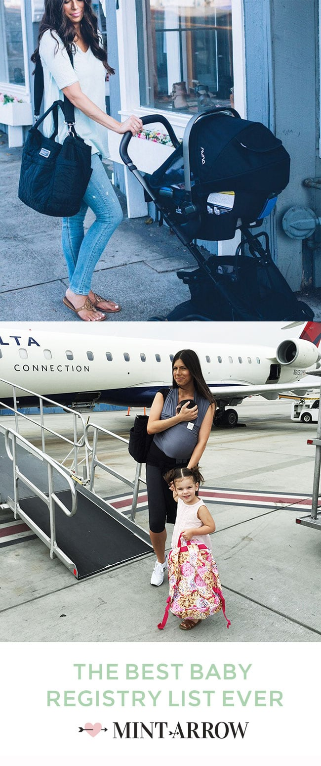 the best baby registry list ever! everything you really need (and all the stuff you don't) for your new baby.