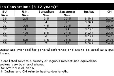 Best Nike Youth Shoe Size Chart Conversion Image Collection